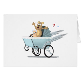 Speed Baby Greeting Card