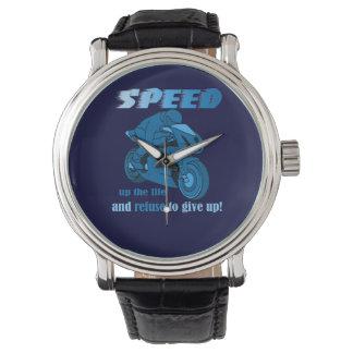 Speed-Blue- Glitter Watch