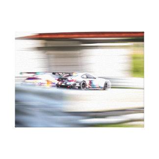 Speed Blur Canvas Print