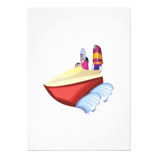 Speed Boat Cards