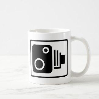 Speed Camera Symbol Basic White Mug