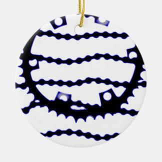Speed Chain Round Ceramic Decoration