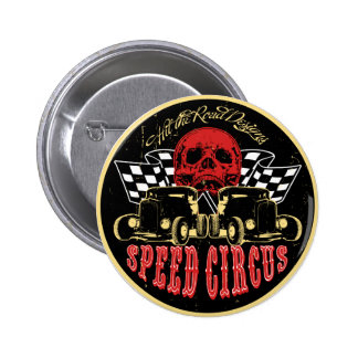 Speed Circus 6 Cm Round Badge