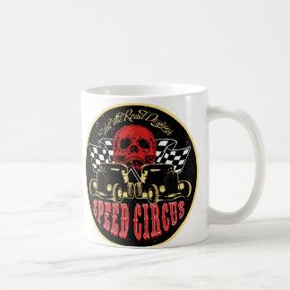 Speed Circus Classic White Coffee Mug