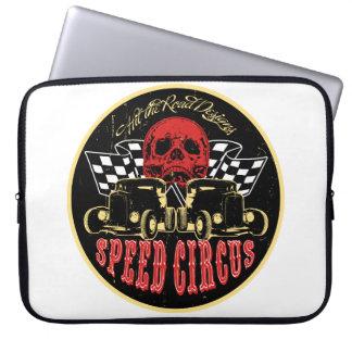 Speed Circus original design Laptop Sleeve