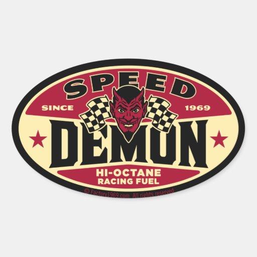 Speed Demon 003B Sticker