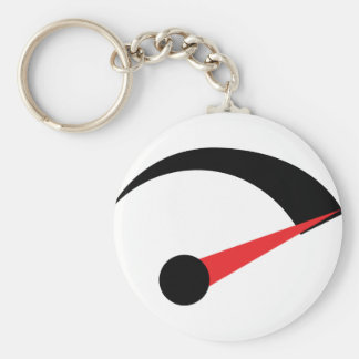 speed fast needle indicator keychain