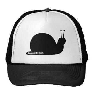 speed freak snail black cap