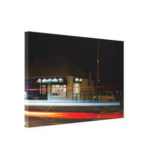 Speed Gallery Wrap Canvas