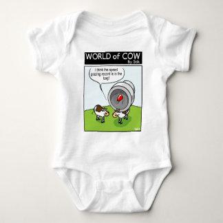 Speed Grazing Record Baby Bodysuit