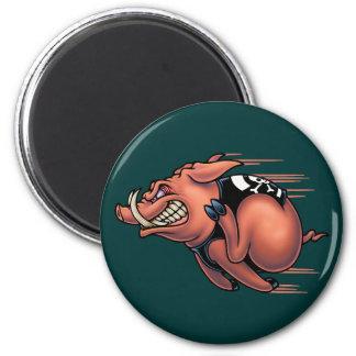 Speed Hog 6 Cm Round Magnet