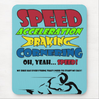 Speed! Mouse Mat