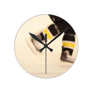 Speed on Skates Round Clock