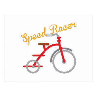 Speed Racer Postcard