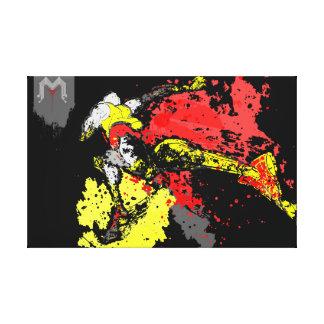 Speed Runner Canvas Print