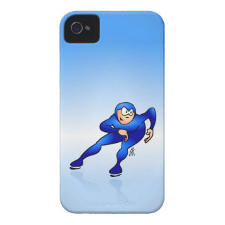 Speed skater iPhone 4 case
