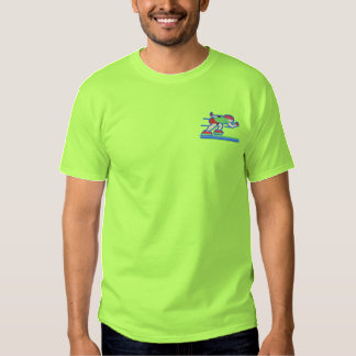 Speed Skater Embroidered T-Shirt