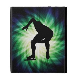 Speed Skater Gift iPad Cases