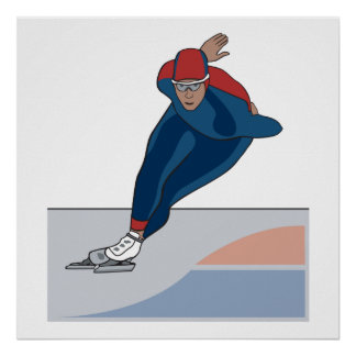 speed skater posters