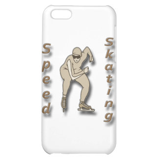 Speed Skating brown Cover For iPhone 5C