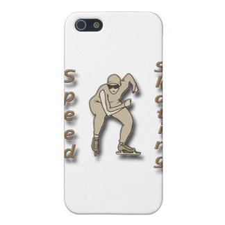 Speed Skating brown iPhone 5 Cases