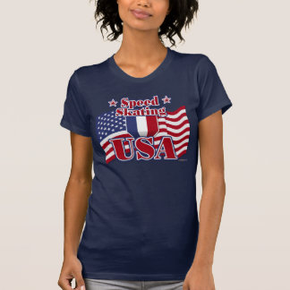 Speed Skating USA T-Shirt