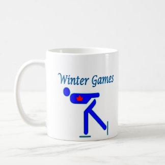 Speed Skating Winter Games Mug
