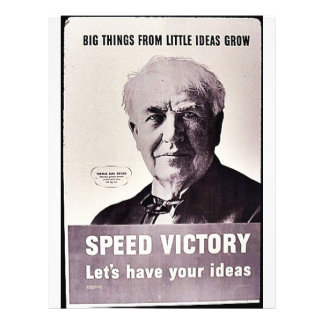 Speed Victory, Let's Have Your Ideas 21.5 Cm X 28 Cm Flyer