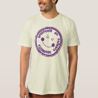 Speedcore on parasta huumetta t-paita/t-shirt T-Shirt