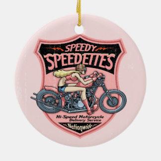Speedettes Christmas Ornament