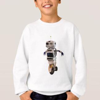 Speeding Robot Sweatshirt