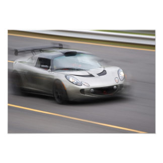 Speeding Sports Car Custom Announcements