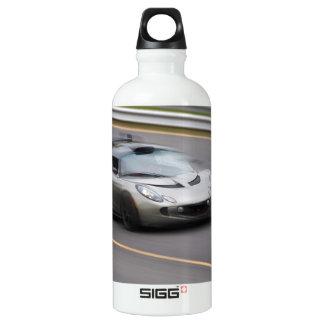 Speeding Sports Car Water Bottle