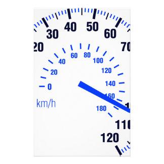 Speeding Stationery Paper