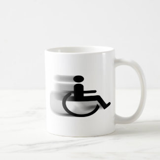 Speeding Wheelchair Mug