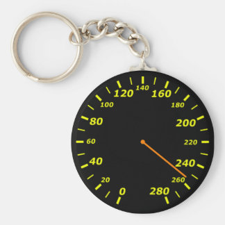 Speedometer Key Chain