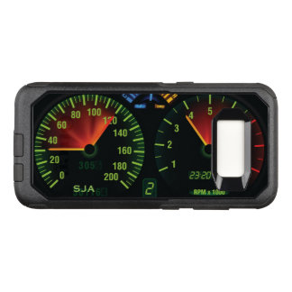 Speedometer Odometer Design Otter Box OtterBox Commuter Samsung Galaxy S8 Case
