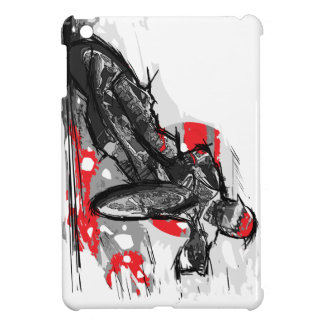 Speedway Flat Track Motorcycle Racer iPad Mini Cover