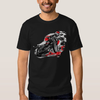 Speedway Flat Track Motorcycle Racer Tshirt