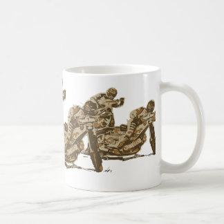 Speedway Motorcycle Racers Coffee Mug