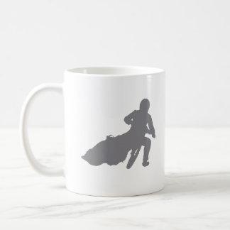 SPEEDWAY STAR (grey) Basic White Mug
