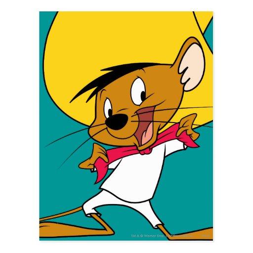 Speedy Gonzales Bow-Tie Postcards
