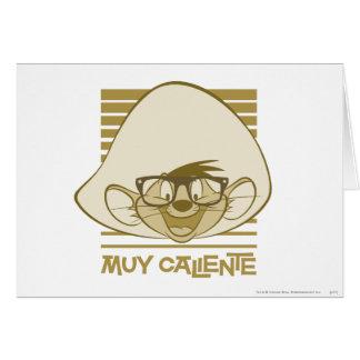 Speedy Gonzales - Muy Caliente Card