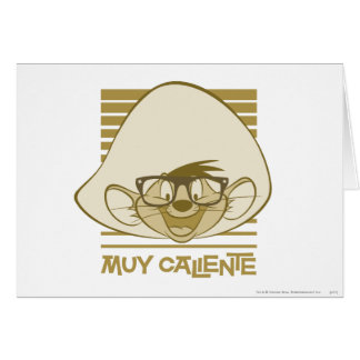 Speedy Gonzales - Muy Caliente Greeting Card