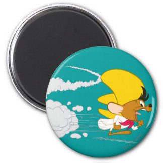 SPEEDY GONZALES™ Running in Color 6 Cm Round Magnet