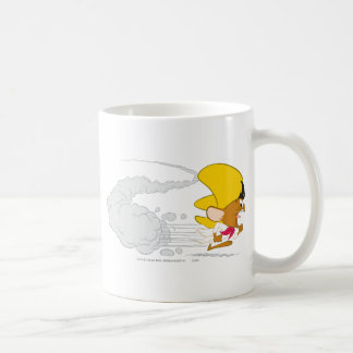 Speedy Gonzales Running in Color Basic White Mug