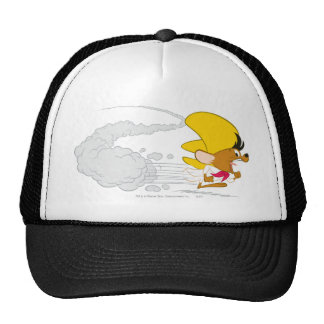 Speedy Gonzales Running in Color Hat