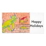 SPEEDY  Happy Holidays Photo Card