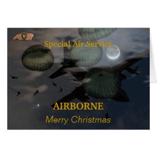 Speical Air Service sas iraq vets veterans Card