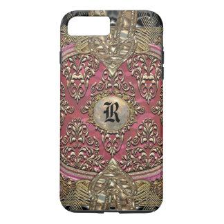 Speigaford Baroque Damask  Monogram Plus iPhone 7 Plus Case